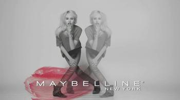 Maybelline New York Color Whisper Lipcolor TV Spot, 'Shhh' - Thumbnail 10