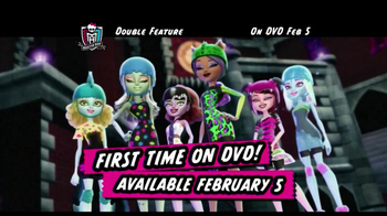 Monster High Double Feature DVD TV Spot  - Thumbnail 1