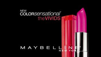 Maybelline New York Color Sensational Vivids TV Spot  - Thumbnail 4