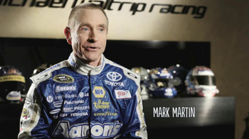 Aaron's TV Spot, 'Not Like Me' Featuring Mark Martin and Michael Waltrip - Thumbnail 1