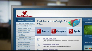 CreditCards.com TV Spot, 'Three Credit Cards' - Thumbnail 7