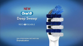 Oral-B Deep Sweep 5000 Electric Toothbrush TV Spot, 'Flags' - Thumbnail 5