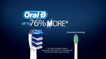Oral-B Deep Sweep 5000 Electric Toothbrush TV Spot, 'Flags' - Thumbnail 8