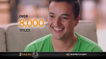 GameFly.com TV Spot, 'Online Memebership'