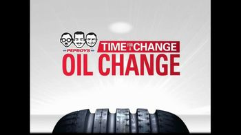 PepBoys Time for a Change Oil Change TV Spot