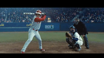Dick\'s Sporting Goods TV Spot, \'Baseball Pitches\'