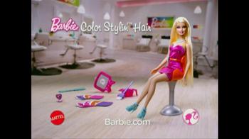 Barbie Color Stylin' Hair TV Spot  - Thumbnail 9