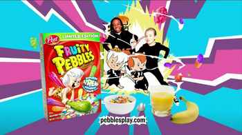 Fruity Pebbles Xtreme TV Spot