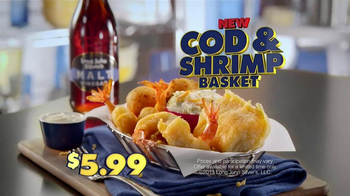 Long John Silver's Cod and Shrimp Basket TV Spot, 'Fish Sandwich' - Thumbnail 7