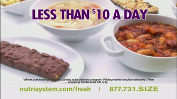 Nutrisystem Fresh Start Sales Event TV Spot Feat. Jillian Barberie - Thumbnail 3