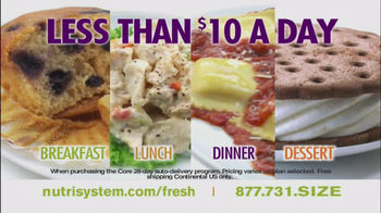 Nutrisystem Fresh Start Sales Event TV Spot Feat. Jillian Barberie