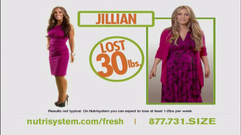 Nutrisystem Fresh Start Sales Event TV Spot Feat. Jillian Barberie - Thumbnail 6