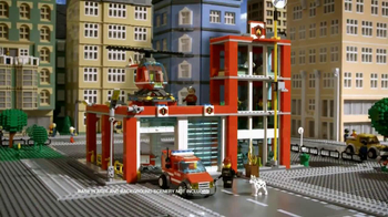 LEGO City Fire Station TV Spot