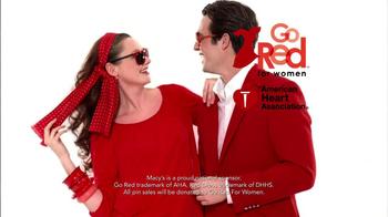 Macy's Wear Red Sale TV Spot  - Thumbnail 6