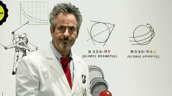 Bridgestone RX Golf Ball TV Spot, 'Laboratory' Featuring David Feherty