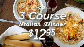 Olive Garden 3-Course Italian Dinner TV Spot - Thumbnail 9