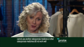 Prolia TV Spot Featuring Blythe Danner - Thumbnail 3