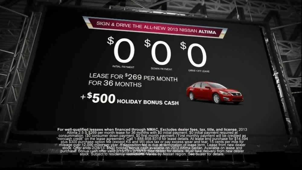 Nissan Now Sales Event TV Commercial, 'Altima' Song by The ...
