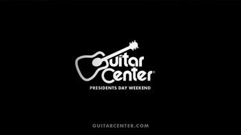 Guitar Center Presidents' Day Weekend Sale TV Spot - Thumbnail 10