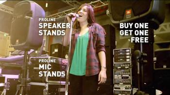 Guitar Center Presidents' Day Weekend Sale TV Spot