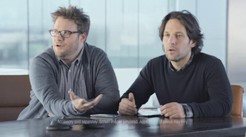 Samsung Super Bowl 2013 Teaser TV Spot, 'Trademarked' Ft. Seth Rogen