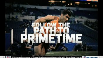 NFL Network TV Spot, 'Scouting Combine 2013' - 17 commercial airings