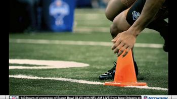 NFL Network TV Spot, 'Scouting Combine 2013' - Thumbnail 3