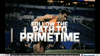 NFL Network TV Spot, 'Scouting Combine 2013' - Thumbnail 9