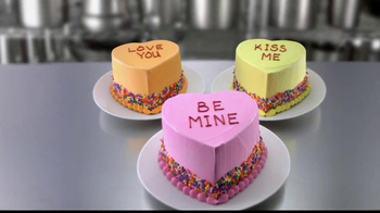 Baskin-Robbins Conversation Heart Cakes TV Spot