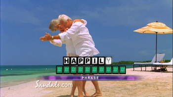 Wheel of Fortune TV Spot, 'Sandals Vacation Sweepstakes' - Thumbnail 6