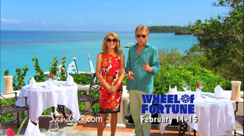 Wheel of Fortune TV Spot, 'Sandals Vacation Sweepstakes' - Thumbnail 9