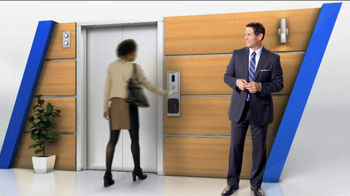 Tyco Integrated Security TV Spot, 'Elevator' Featuring Steve Young - Thumbnail 1