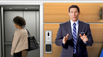 Tyco Integrated Security TV Spot, 'Elevator' Featuring Steve Young - Thumbnail 2