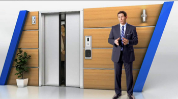 Tyco Integrated Security TV Spot, 'Elevator' Featuring Steve Young - Thumbnail 3