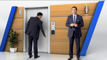 Tyco Integrated Security TV Spot, 'Elevator' Featuring Steve Young - 287 commercial airings
