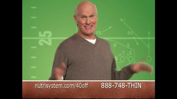 Nutrisystem TV Spot Featuring Terry Bradshaw - 91 commercial airings