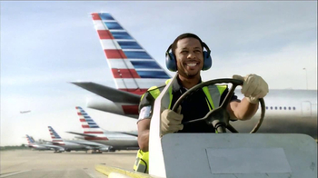 American Airlines TV Spot, 'New Plane Smell' Song by Kanye West - Thumbnail 10