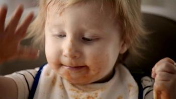 Bounty DuraTowel TV Spot, 'Spaghetti Cleanup' - Thumbnail 1