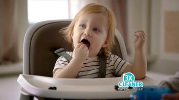 Bounty DuraTowel TV Spot, 'Spaghetti Cleanup' - Thumbnail 10