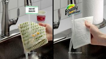 Bounty DuraTowel TV Spot, 'Spaghetti Cleanup' - Thumbnail 6