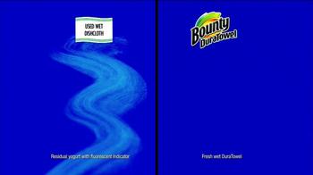 Bounty DuraTowel TV Spot, 'Spaghetti Cleanup' - Thumbnail 8
