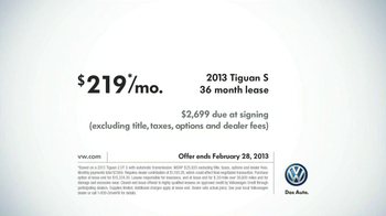Volkswagen 2013 Tiguan S TV Spot, 'Grocery Run' Song by Chamillionaire - Thumbnail 10