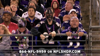 NFL Shop Ravens Championship Package TV Spot, 'You Won!' - Thumbnail 1