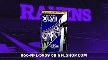 NFL Shop Ravens Championship Package TV Spot, 'You Won!' - Thumbnail 3