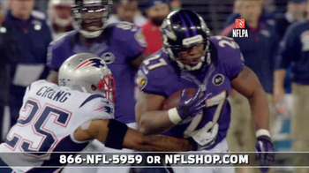 NFL Shop Ravens Championship Package TV Spot, 'You Won!' - Thumbnail 5