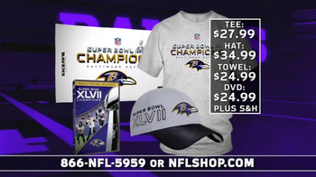 NFL Shop Ravens Championship Package TV Spot, 'You Won!' - Thumbnail 8
