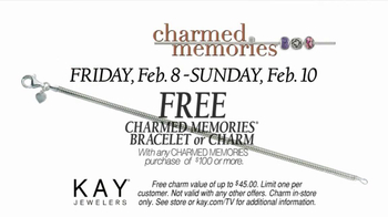 Kay Jewelers Charmed Memories TV Spot, 'Photo Booth: Free Bracelet or Charm' - Thumbnail 6