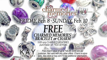 Kay Jewelers Charmed Memories TV Spot, 'Photo Booth: Free Bracelet or Charm' - Thumbnail 7