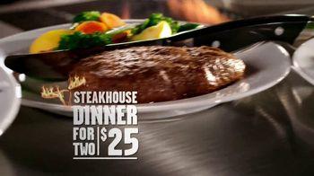 Longhorn Steakhouse TV Spot '2 Dinners Under $25'
