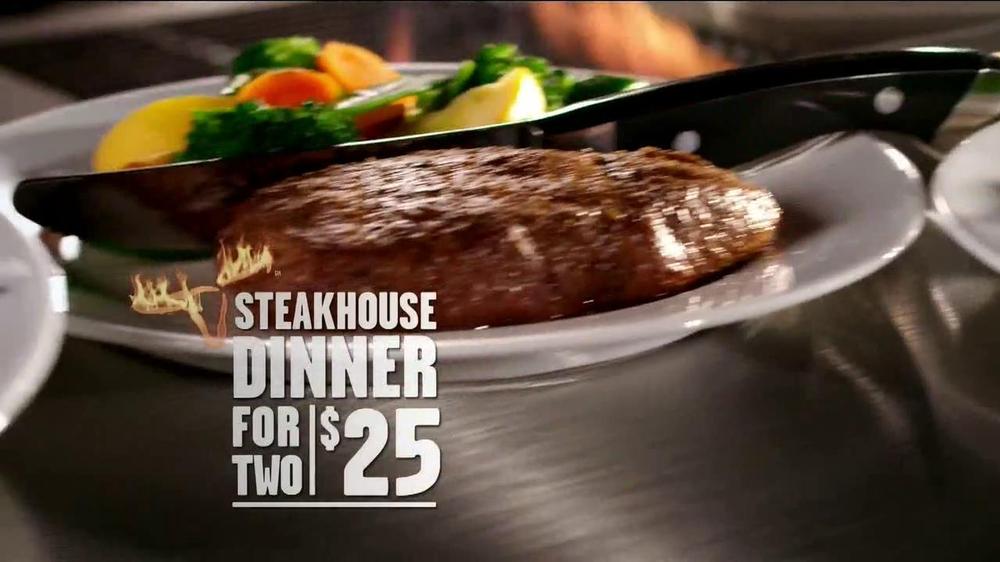 longhorn steakhouse tv commercial 2 dinners under 25 ispot tv